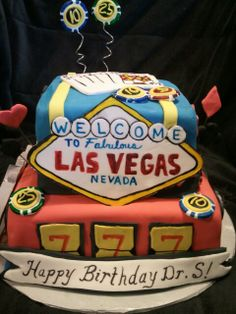 Made  by LaKeisha Keck with Sweet Tooth Mother and Daughter cakes.  Las Vegas cake.