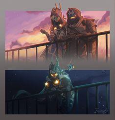 Destiny Cayde 6, Destiny Comic, Destiny Hunter, Destiny Bungie, Destiny Backgrounds, Destiny Cosplay, Character Art, Character Design, Dungeons And Dragons Homebrew