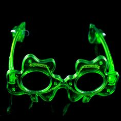 Apparel Accessories Trustful Led Glasses Light Up Shades Flashing Rave Wedding Party Eyewear Luminous Glowing Night Shows Decors Activities Christmas Supply Evident Effect Men's Glasses