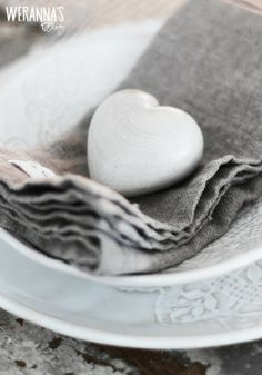 A beautiful soapstone heart