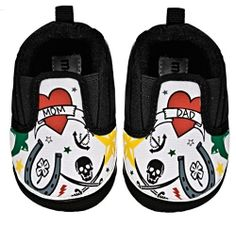 Tattoo baby shoes