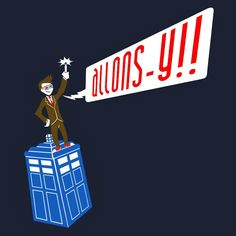 New Doctor Who 'Tenth Doctor' T Shirt Available For The Next 7 Days