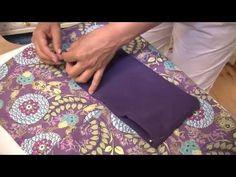 "Easy skirt, no pattern needed. DaWanda Nähschule: ""Wie nähe ich ein Bündchen an?"" - YouTube"