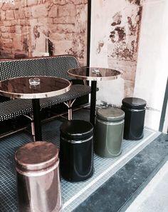 metallic cafe