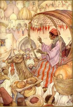 The Arabian Nights by Anton Pieck