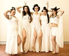 """Cosplay of the Muses from Disney's """"Hercules""""                                                                                                                                                                                 More"""