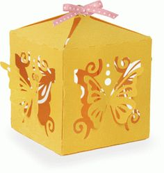 I think I'm in love with this shape from the Silhouette Design Store! Paper Gifts, Diy Paper, Vinyl Projects, Craft Projects, Diy Gift Box, Alice, Craft Box, Pop Up Cards, Kirigami