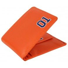 Mustard Dukes of Hazzard Wallet - Orange
