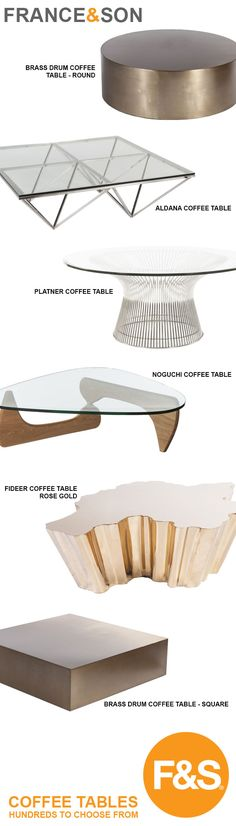 France & Son Coffee Tables - Hundreds to choose from.