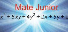 Factorizacion por aspa doble SIgueme en facebook como Mate Junior