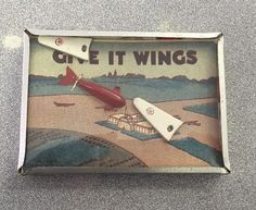 Vintage Dexterity Give It Wings Game