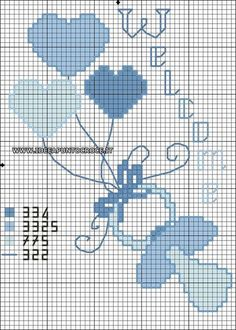 Baby Cross Stitch Patterns, Cross Stitch For Kids, Cross Stitch Baby, Cross Stitch Charts, Cross Stitch Designs, Baby Patterns, Wedding Cross Stitch, Cross Stitching, Cross Stitch Embroidery