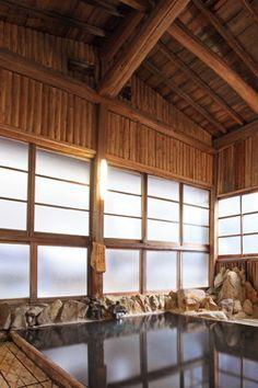 湯の峰温泉 あづまや 含硫黄na 炭酸水素塩泉 90度近い源泉を加水せず、かけ流し 貸切風呂もあり(無料) 和歌山 Japan