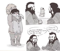Little Fili and Kili, so cute!