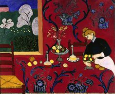 Matisse   This has been one of my favorite paintings of his since I was in school, when I first saw it I fell in love with his work.