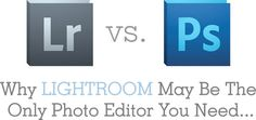 Why Lightroom May Be The Only Photo Editor You Need    Read More http://www.kevinandamanda.com/whatsnew/tutorials/why-lightroom-may-be-the-only-photo-editor-you-need.html#ixzz1kjPsJsHC