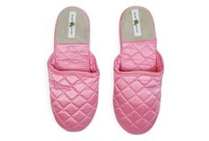 Silk Slippers, Pink Icing $42