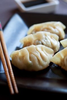 Gyoza Recipe - Gyoza are Japanese dumplings. Learn how to make the best gyoza with this quick