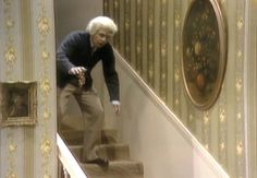 """In this exclusive clip from Time Life's new DVD box set 'The Carol Burnett Show: The Lost Episodes,' Tim Conway's """"oldest man"""" takes an incredibly slow tumble."""