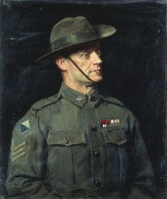 John Campbell, Australian Painting, World War One, Pictures, Oil Paintings, Soldiers, Warriors, Portraits, Victoria