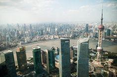 vista de la ciudad de shanghai
