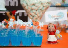 The Party Wagon - Blog - CINDERELLA PARTY DESSERT TABLE
