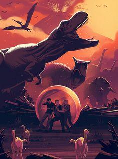 Jurassic World: Fallen Kingdom by Russ Gray - Home of the Alternative Movie Poster -AMP- T Rex Jurassic Park, Jurassic Park Poster, Jurassic Park Trilogy, Jurassic World 3, Jurassic World Fallen Kingdom, Jurrassic Park, Park Art, Falling Kingdoms, Jurassic World Wallpaper