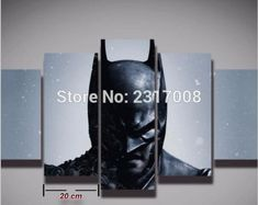 2016 Limited Cuadros Movie Picture Cool Batman Painting On Canvas Dark Knight 5 Panels Wall Decor For Baby Kids Room Art Print. Yesterday's price: US $14.74 (12.15 EUR). Today's price: US $7.96 (6.53 EUR). Discount: 46%.