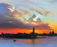 Skies Over Venice by Jim Warren