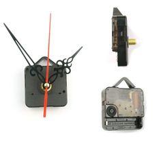 Stylish Quartz Clock Movement Parts Repair Tool Kit Silver Hour Minute Hands