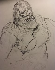 Trap Jaw sketch by MDM. Back in the we had a little show called He-Man, lots of cool characters Muse, Sketch, Characters, Cool Stuff, Art, Sketch Drawing, Art Background, Figurines, Kunst