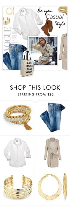"""""""Vogue Casual"""" by mcheffer ❤ liked on Polyvore featuring Vera Bradley, Just Cavalli, Belk Silverworks, Ross-Simons and Fallon & Royce"""