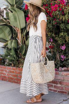 Merrick's Art | Basket Bag #summerbag #strawtote