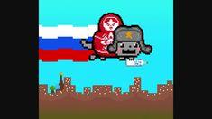 Nyan Cat RUSSIA!!!