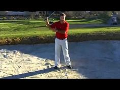 How To Hit A Golf Bunker Shot - YouTube