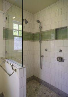 Shower Wall Niche | To da loos: 10 shower wall shampoo niche style ... | House Ideas - Ba ...