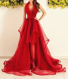 Red carpet gown concept