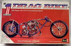 1971 Harley Drag Bike. This kit needs to be reissued so bad it's not even funny. I want one !