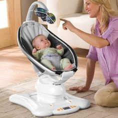 "Drool spotlight: 4moms does it dramatically better from Spilling the Beans one of our BPE certified stores Magic Beans. If you were to play a quick game of word association with baby brands, the word that you'd hear the most frequently with regards to 4Moms is ""technology."" After all, their most well-known products (the Mamaroo Bouncer and the Origami Stroller) both incorporate robotics."