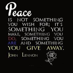 Peace quotes john lennon quotes - Collection Of Inspiring Quotes, Sayings, Images Citation John Lennon, John Lennon Quotes, Beatles Quotes, Great Quotes, Quotes To Live By, Me Quotes, Inspirational Quotes, Qoutes, Monday Quotes