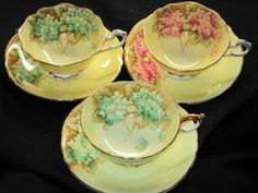 Electronics, Cars, Fashion, Collectibles, Coupons and Fancy Tea Cups, Yellow Tea Cups, Cup And Saucer Set, Tea Cup Saucer, Teapots And Cups, Teacups, Teapot Cookies, Fancy Dishes, Tea Tins