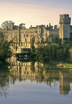 Warwick Castle in England.