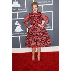 Adele in Valentino Couture | Tom & Lorenzo via Polyvore