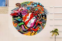 "Tristan Eaton x Versace ""Medusa"" Mural"