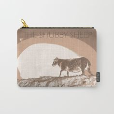 The shubby sheep Carry-All Pouch