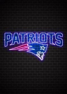 New England Patriots, Nfl, Neon Signs, Random, Sports, Hs Sports, Nfl Football, Sport, Casual