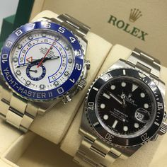 2909ba95585 Captain or Diver  Submariner or Yacht-Master   Dailyduo Relógios De Luxo