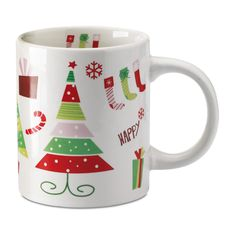 Christmas Dinnerware, Christmas Dishes, Christmas Recipes, Mug Cup, Happy Holidays, Porcelain, Flowers Garden, Tableware, Cups
