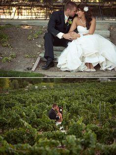 Limefish Studio: Rustic & Romantic Temecula Vineyard Wedding Photos © Ashley Bee | Couple Pose
