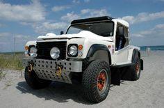 land rover truck